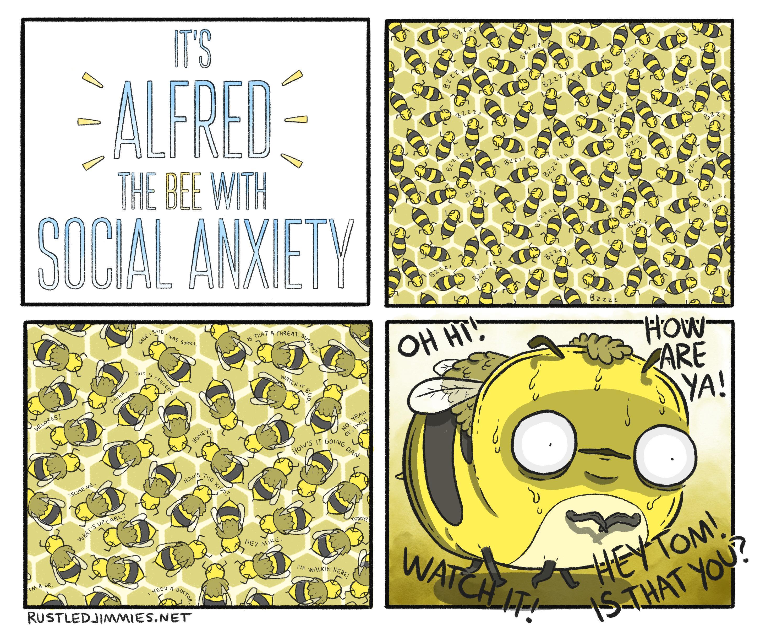 Bee Anxiety