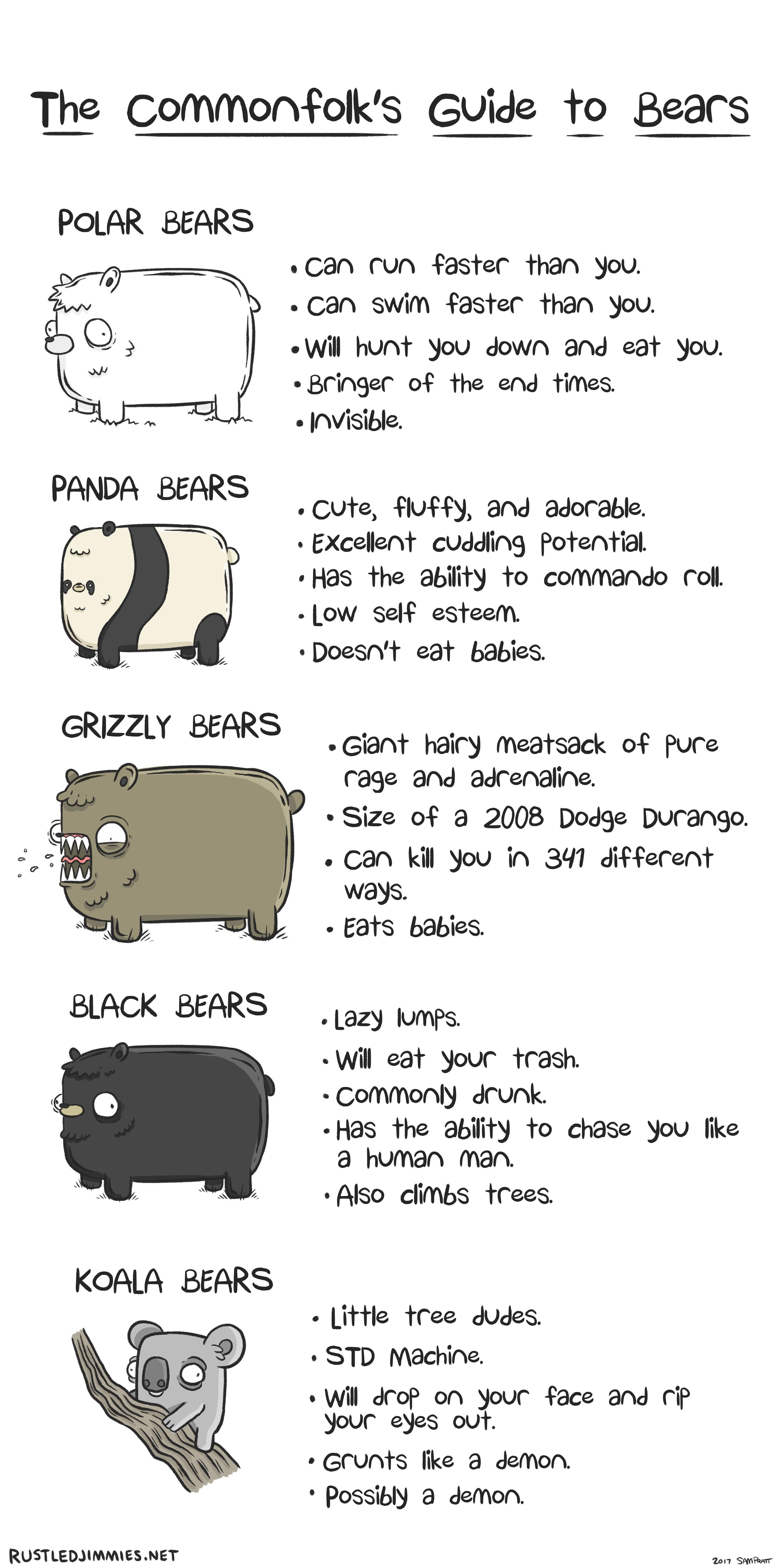Commonfolks Guide To Bears
