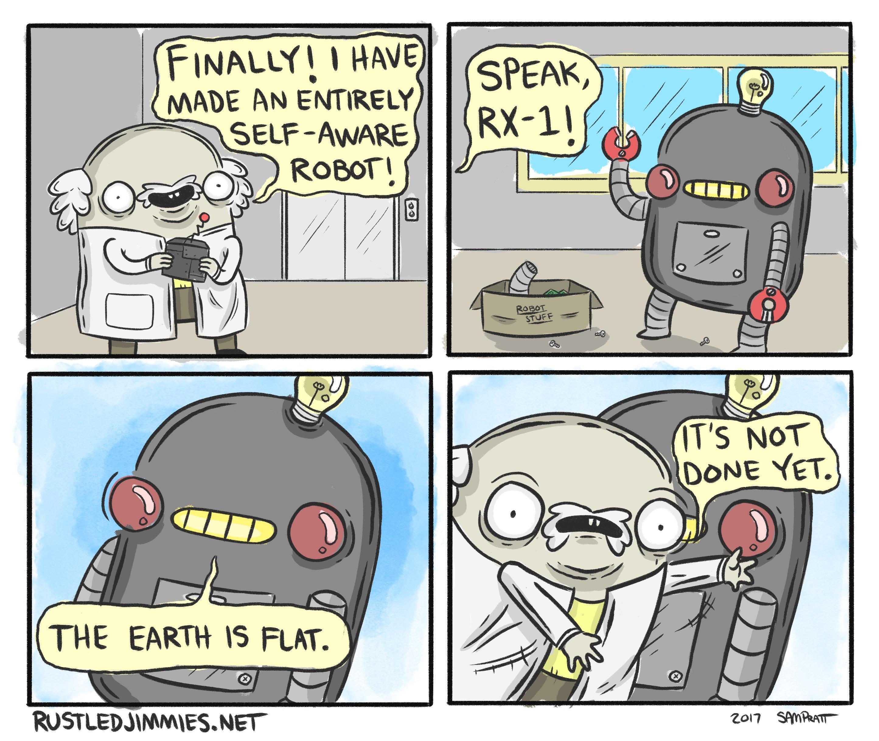 Self Aware Robot
