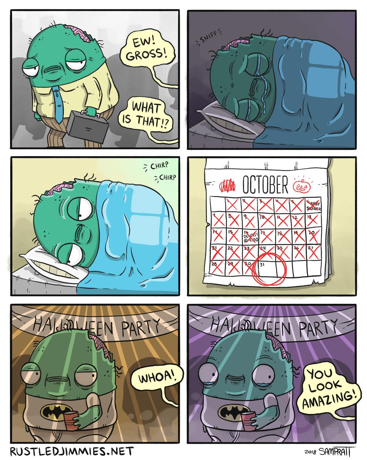 Wholesome Zombie